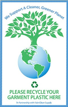 dry cleaning plastic bag recycling eco-friendly