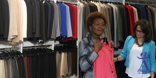 donate clothing to Attitudes & Attire